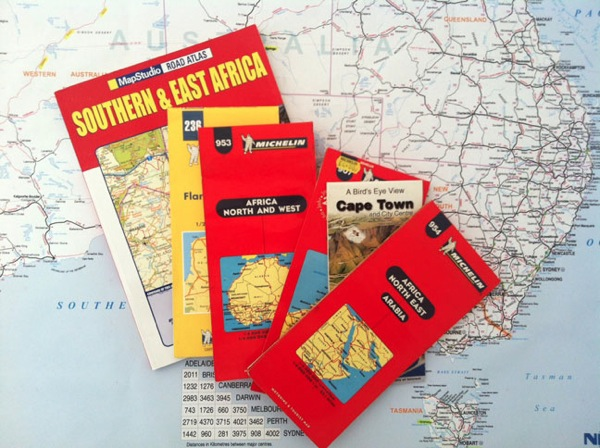 Aussie Overlanders Gifted Africa Maps