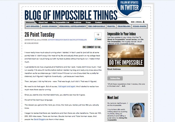 BlogOfImpossibleThings