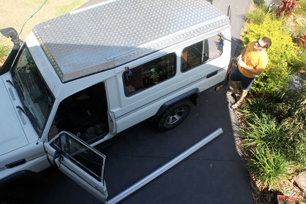 Vehicle conversion aussie overlanders b