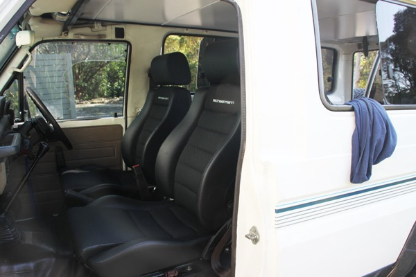 Expedition Vehicle Interior C