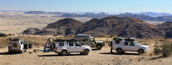 Self Drive Safaris Namibia 4x4