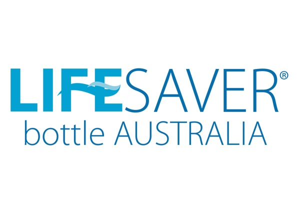 Lifesaver Bottle Logo