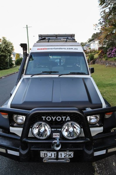 Troopy makeover