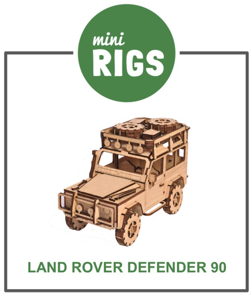 Minirig land rover 90 model