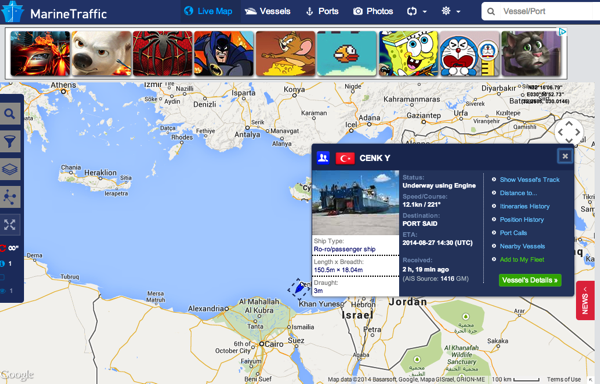 Africa Overland Shipping Out Of Port Said Egypt 2